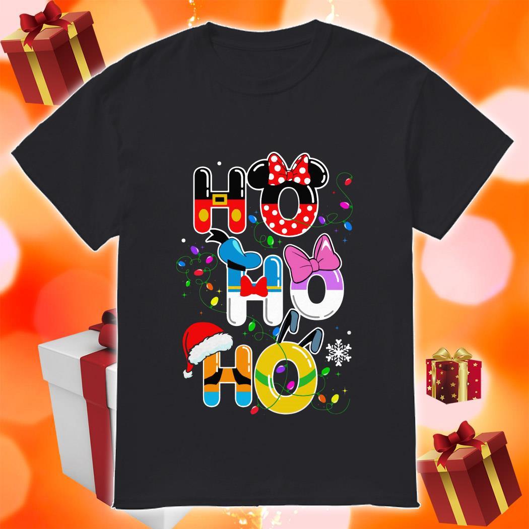 Ho Ho Ho Mickey Disney Christmas shirt