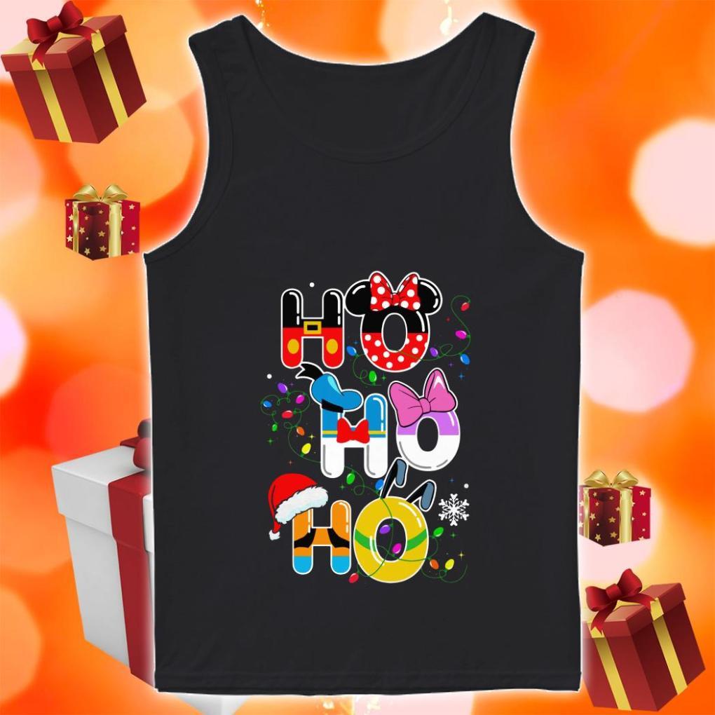 Ho Ho Ho Mickey Disney Christmas tank top