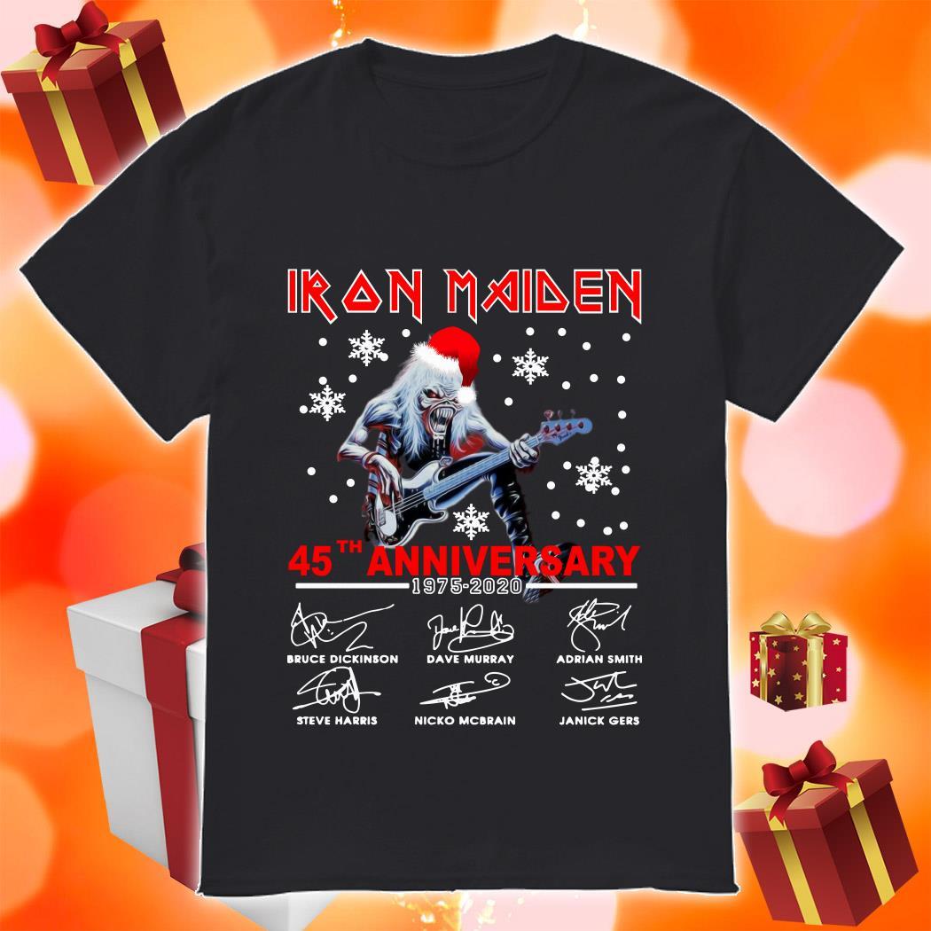 Iron Maiden 45th anniversary 1975 2020 shirt