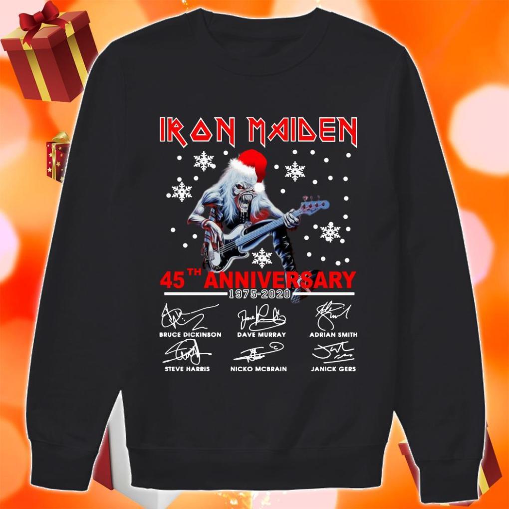 Iron Maiden 45th anniversary 1975 2020 sweater