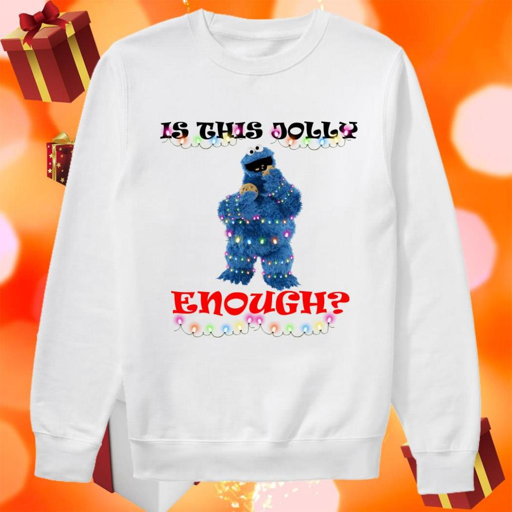 Is this Jolly enough Cookie Monster sweater