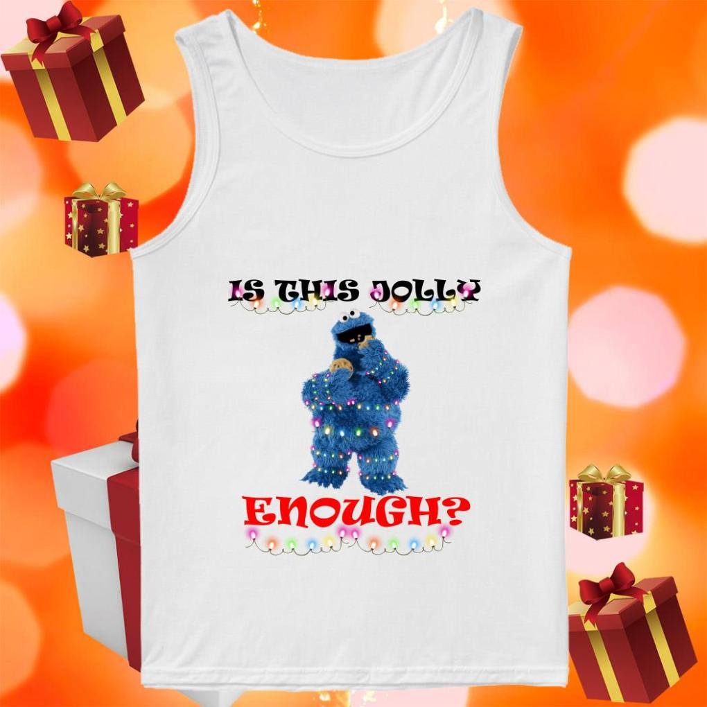 Is this Jolly enough Cookie Monster tank top