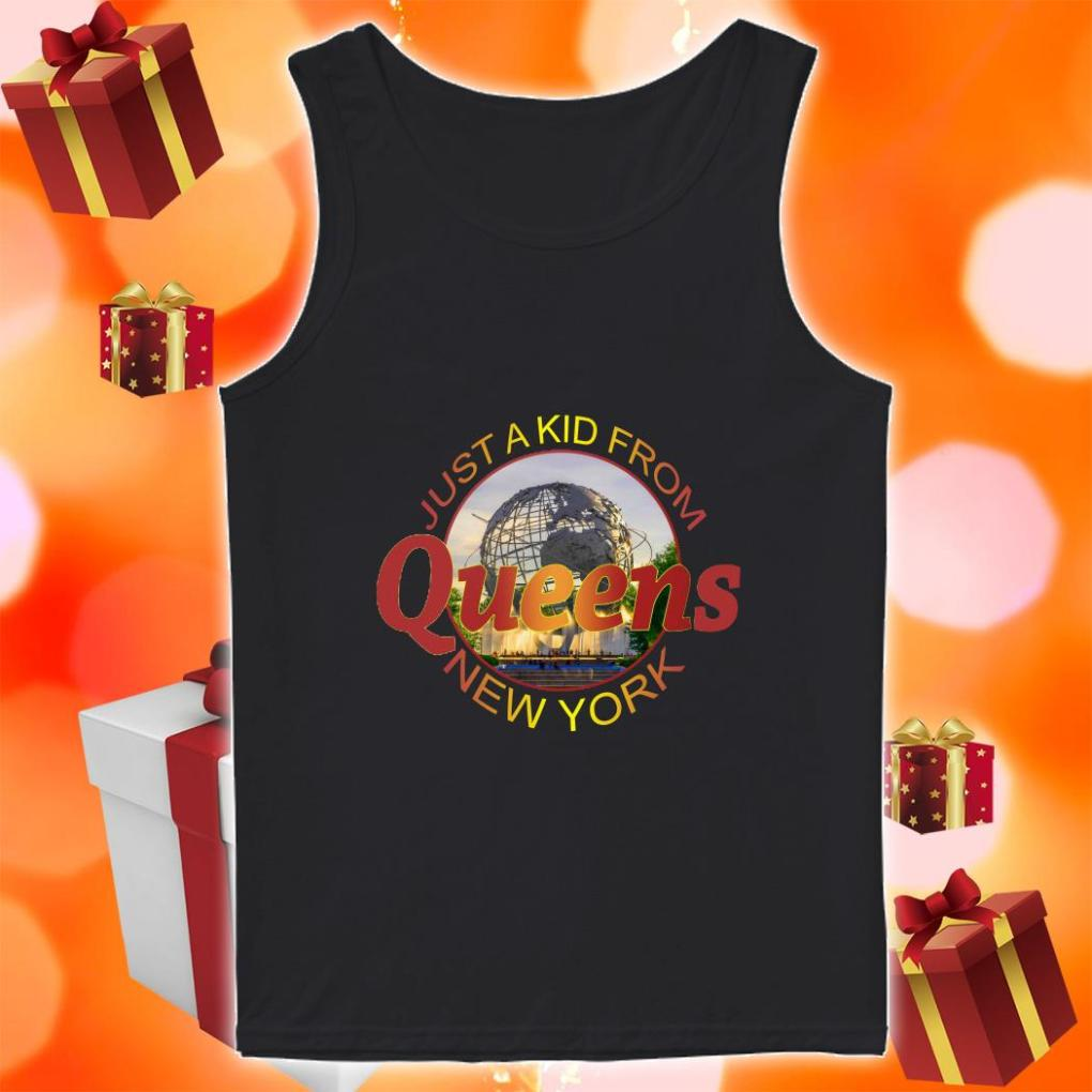 Just a kid from Queens New York tank top