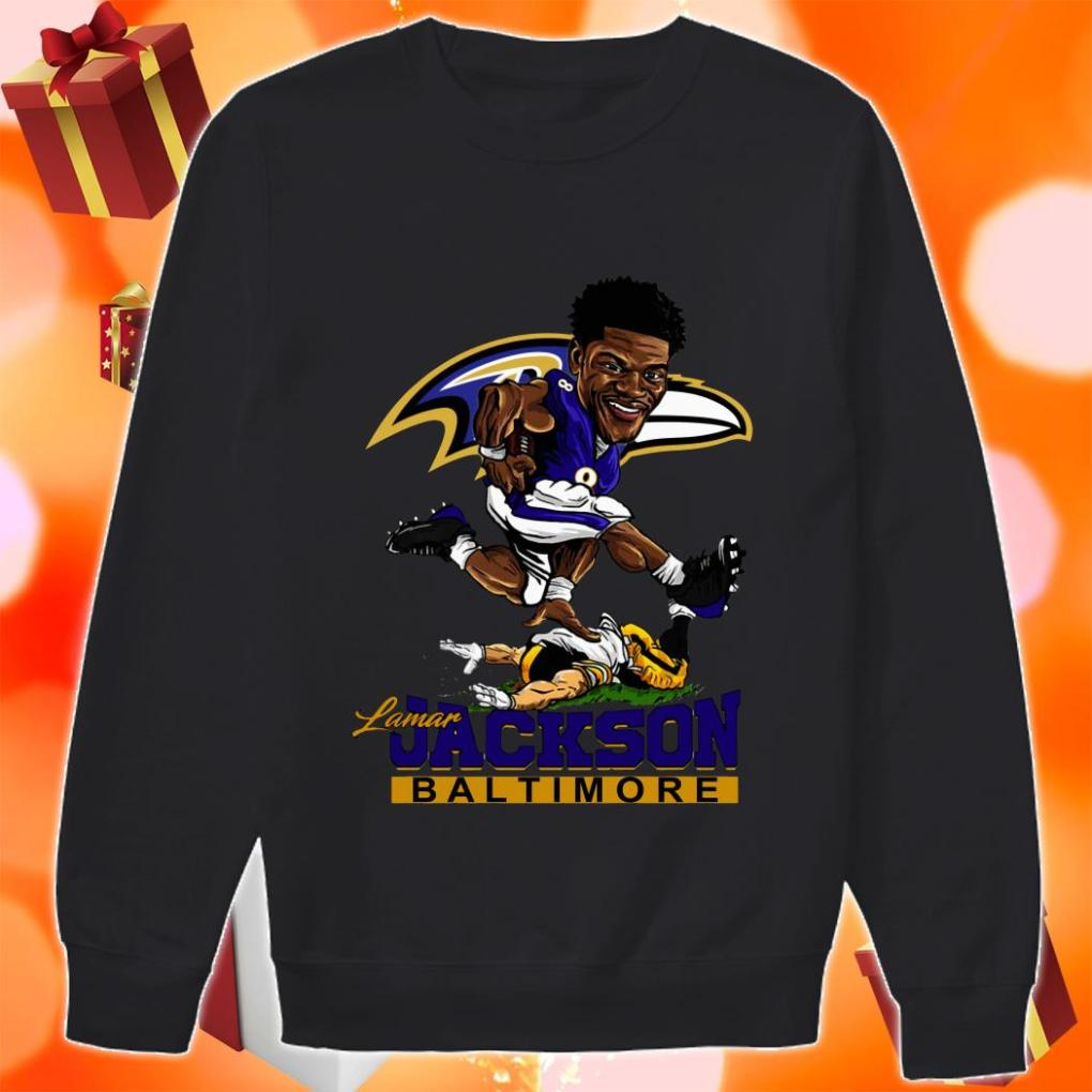 Lamar Jackson Baltimore funny sweater