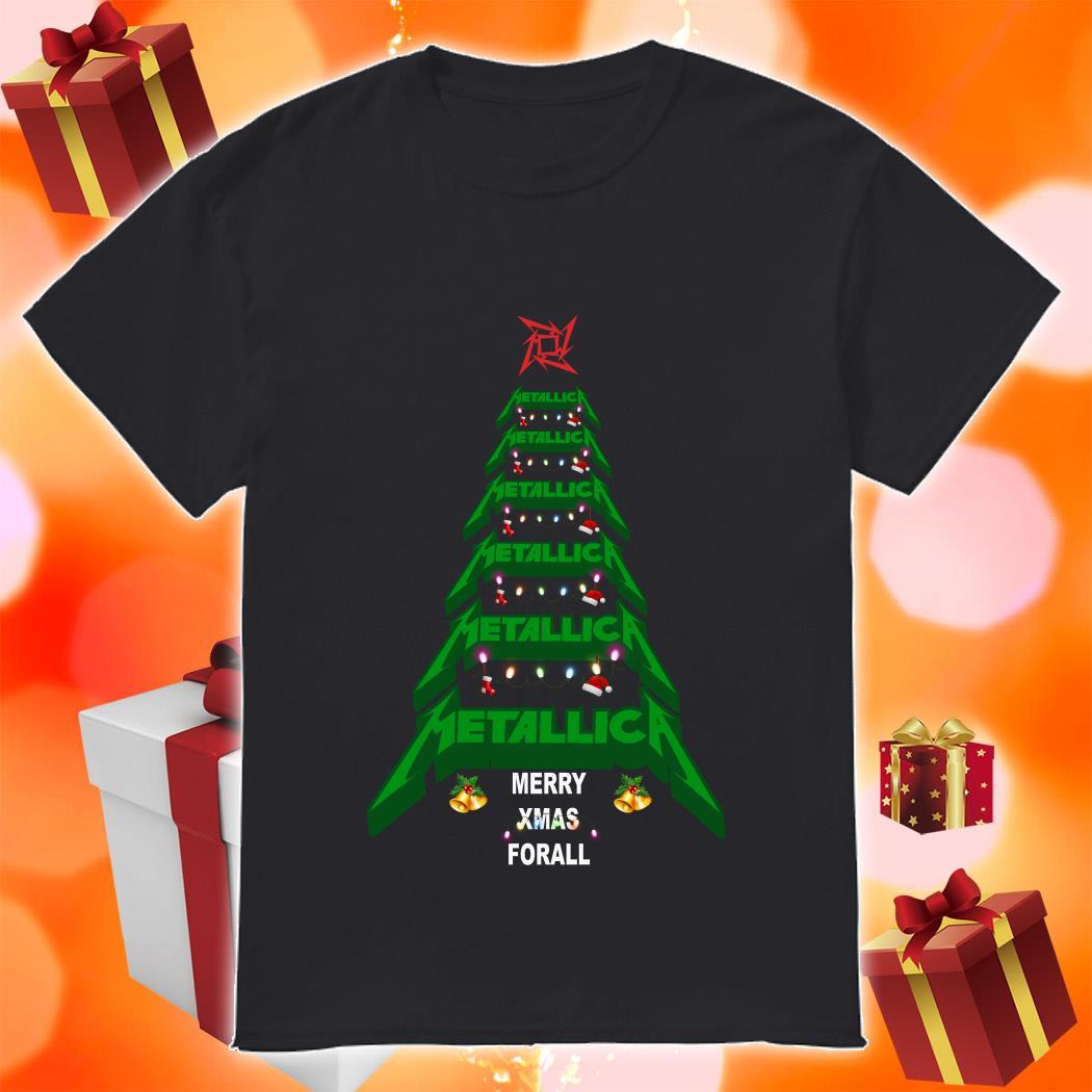 Metallica Merry Xmas For all shirt
