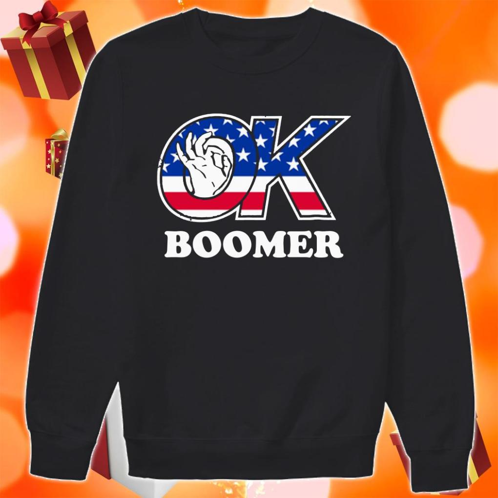 Ok Boomer American sweater