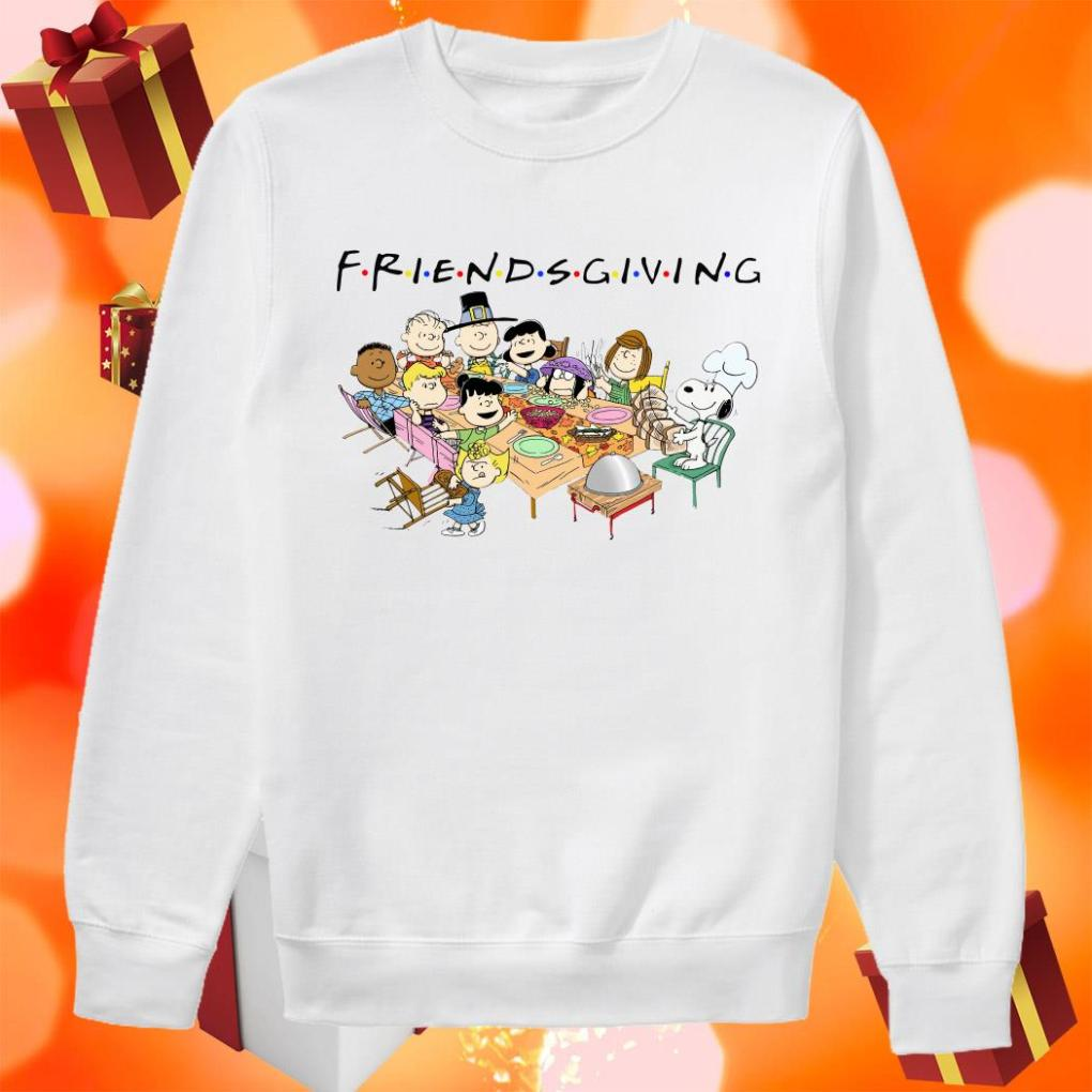 Peanuts Snoopy Friendsgiving sweater