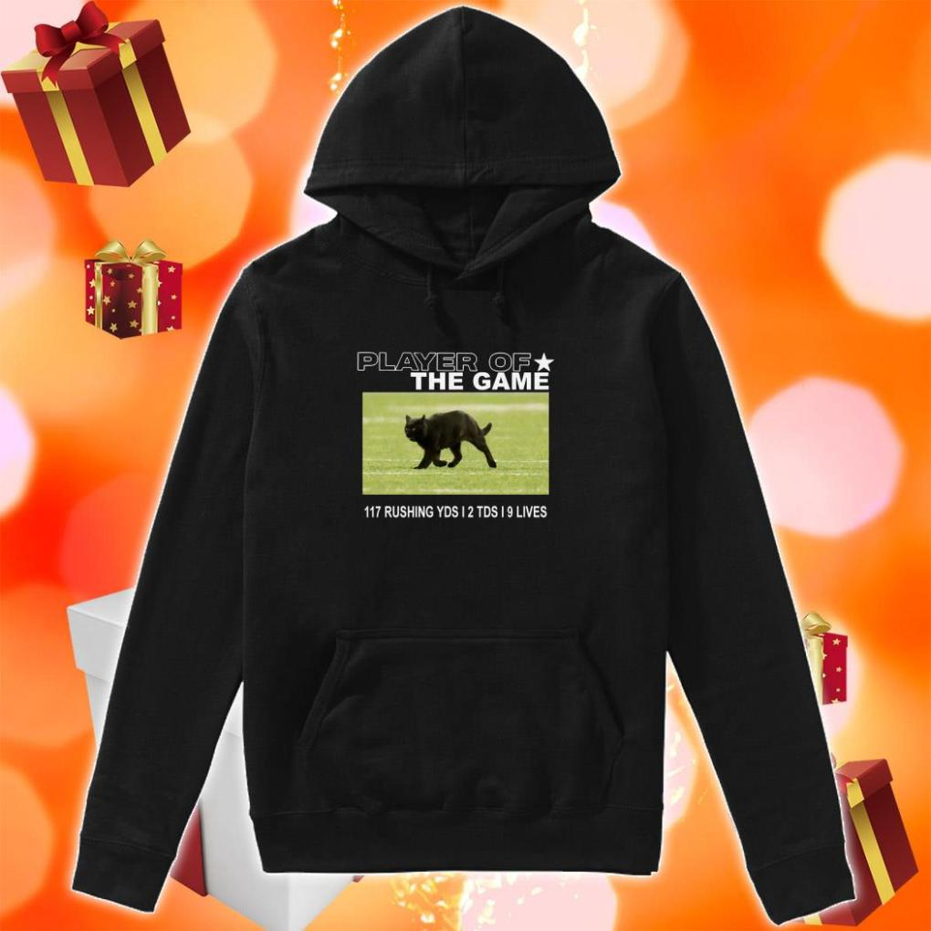 Player of the Game Black Cat Dallas Cowboys hoodie