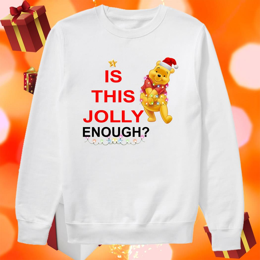 Pooh is this Jolly enough sweater