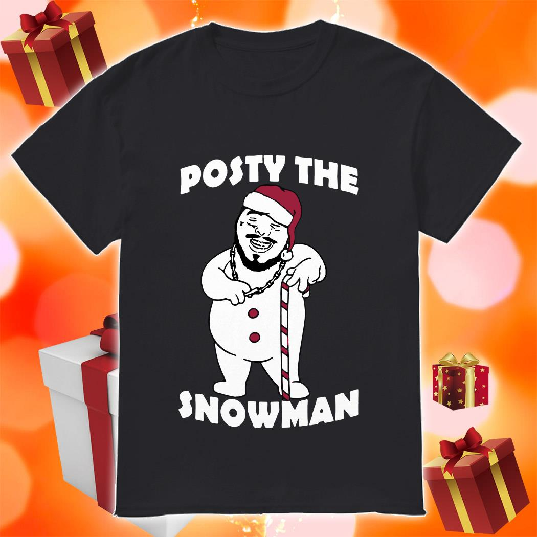 Posty the Snowman shirt