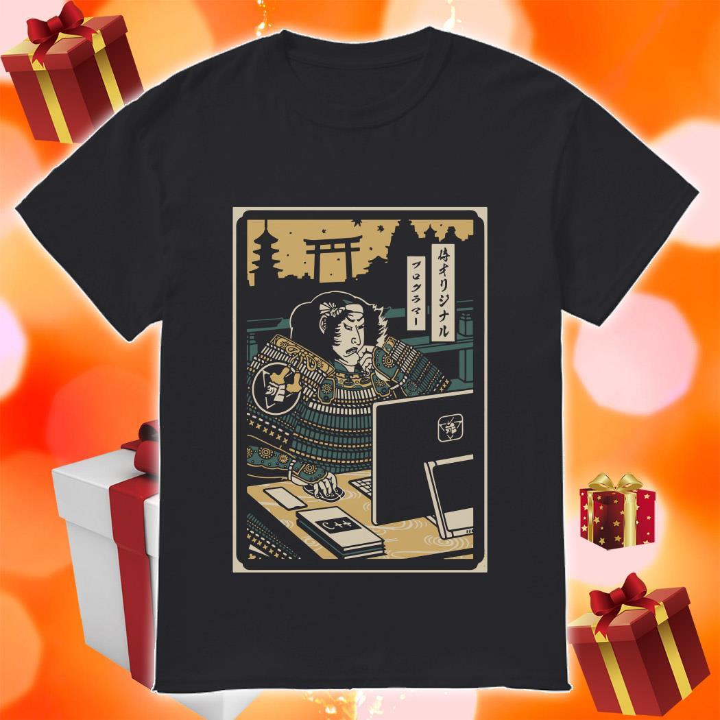 PROGRAMMER SAMURAI NO.2 shirt