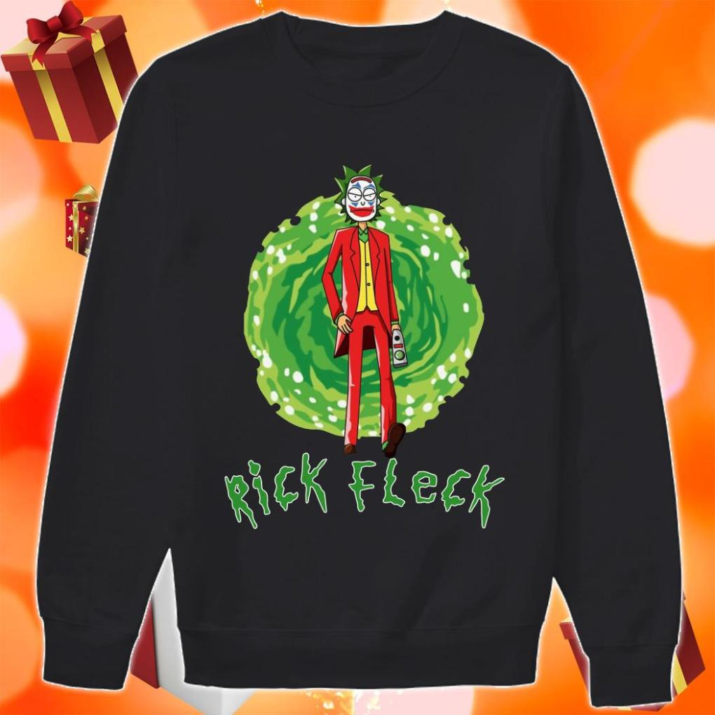Rick Fleck Rick Sanchez Joker sweater