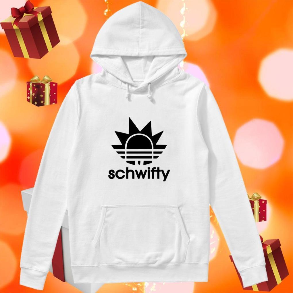 Schwifty Adidas Rick Sanchez hoodie