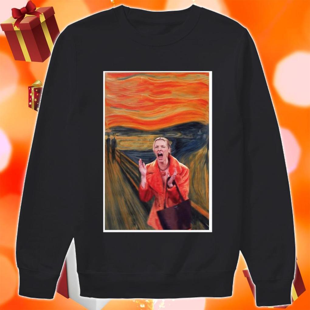 The Scream Phoebe Buffay Friends TV Show sweater