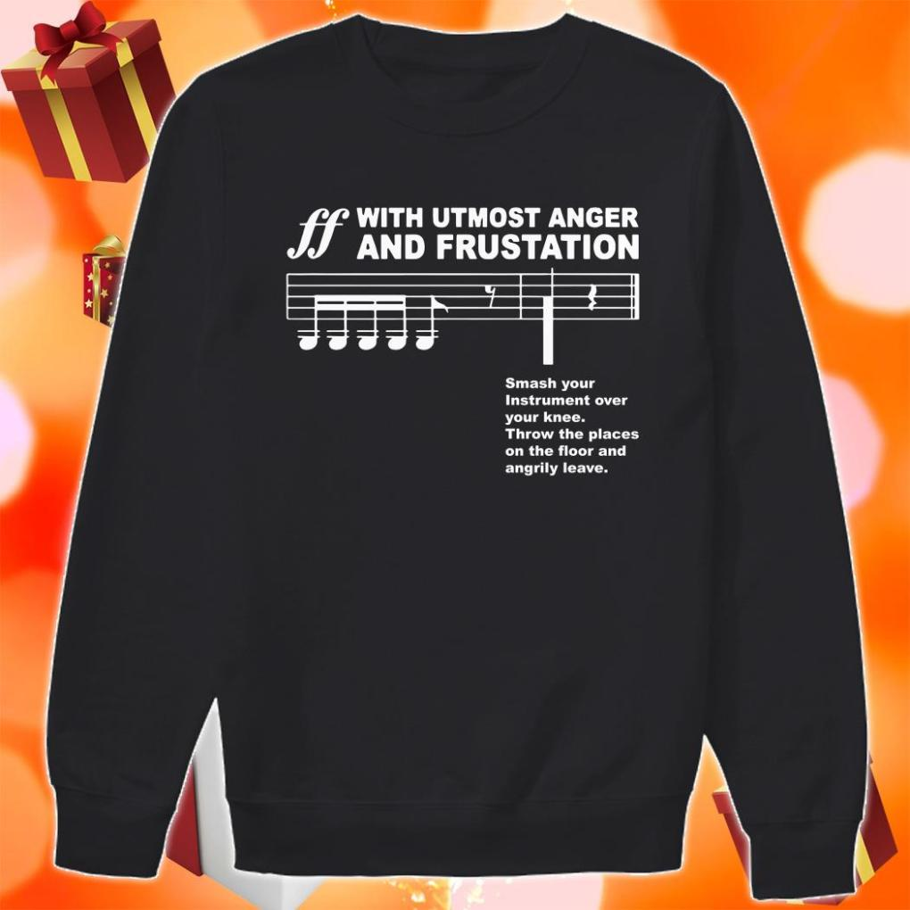 Spoken With Utmost Anger F and Frustration sweater