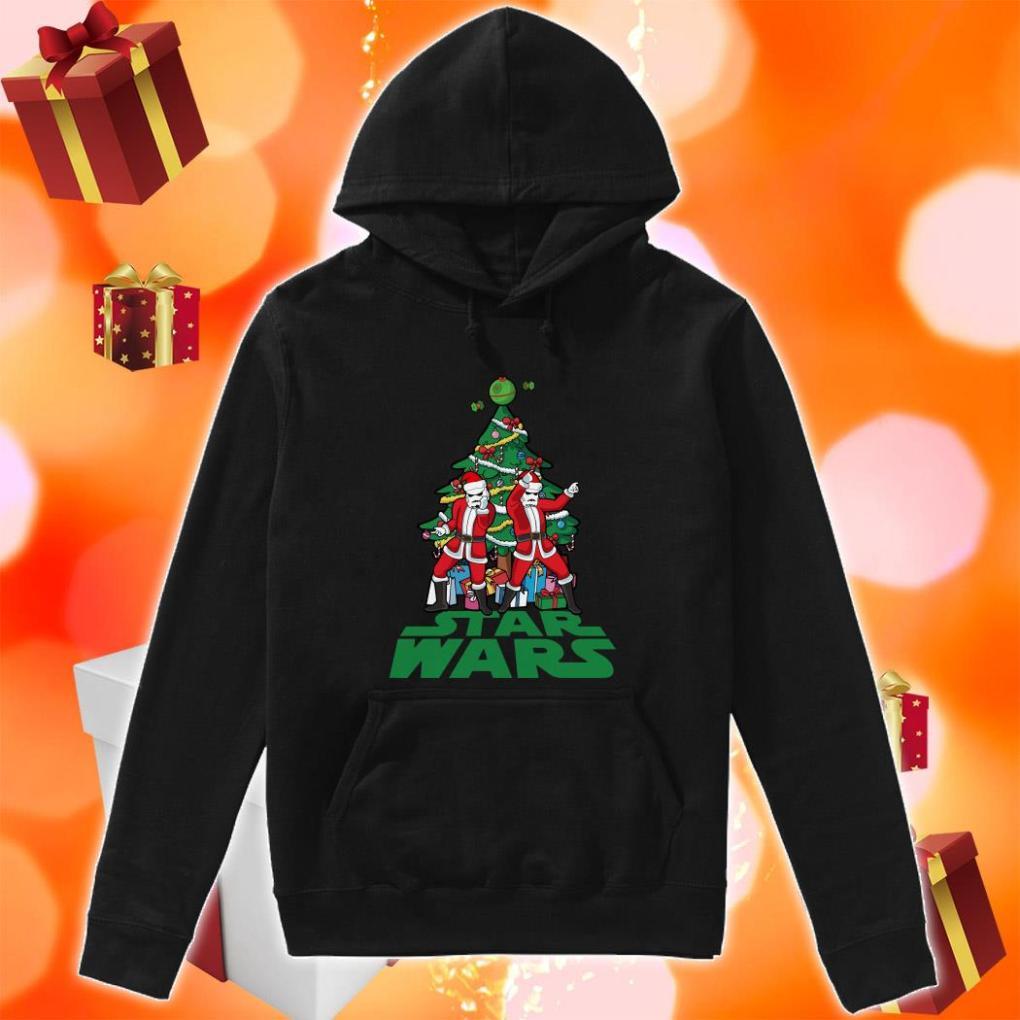 Star Wars Stormtrooper Christmas tree hoodie