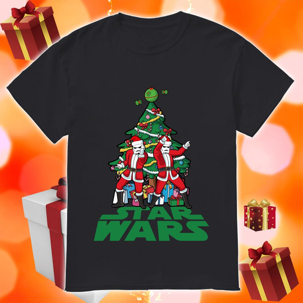 Star Wars Stormtrooper Christmas tree shirt