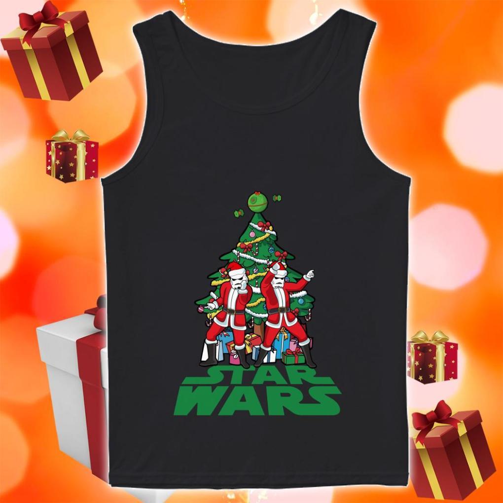 Star Wars Stormtrooper Christmas tree tank top