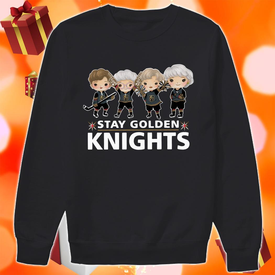 Stay Golden Knights sweater