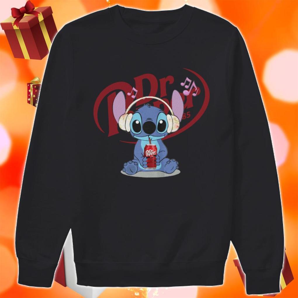 Stitch drink Dr Pepper sweater
