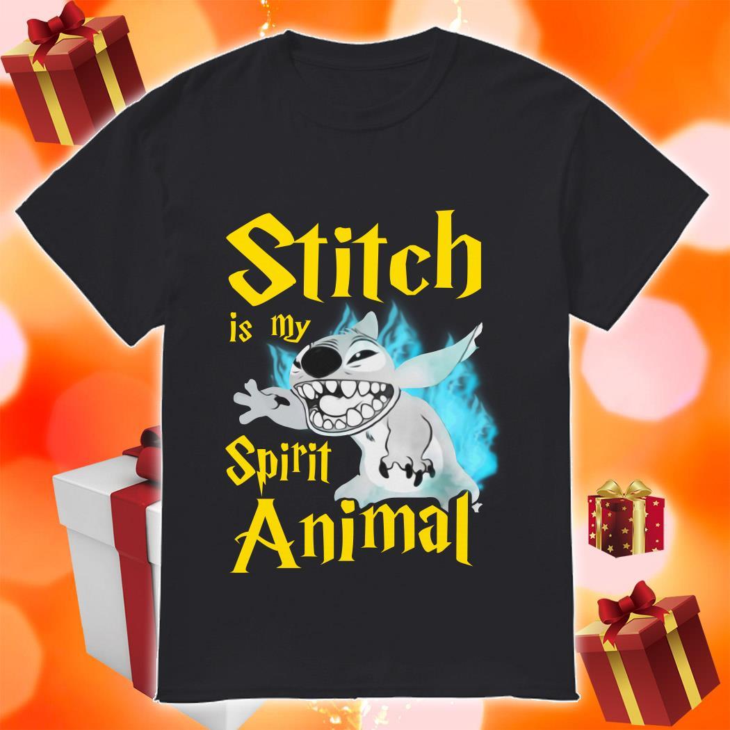 Stitch is my Spirit animal Harry Potter shirt
