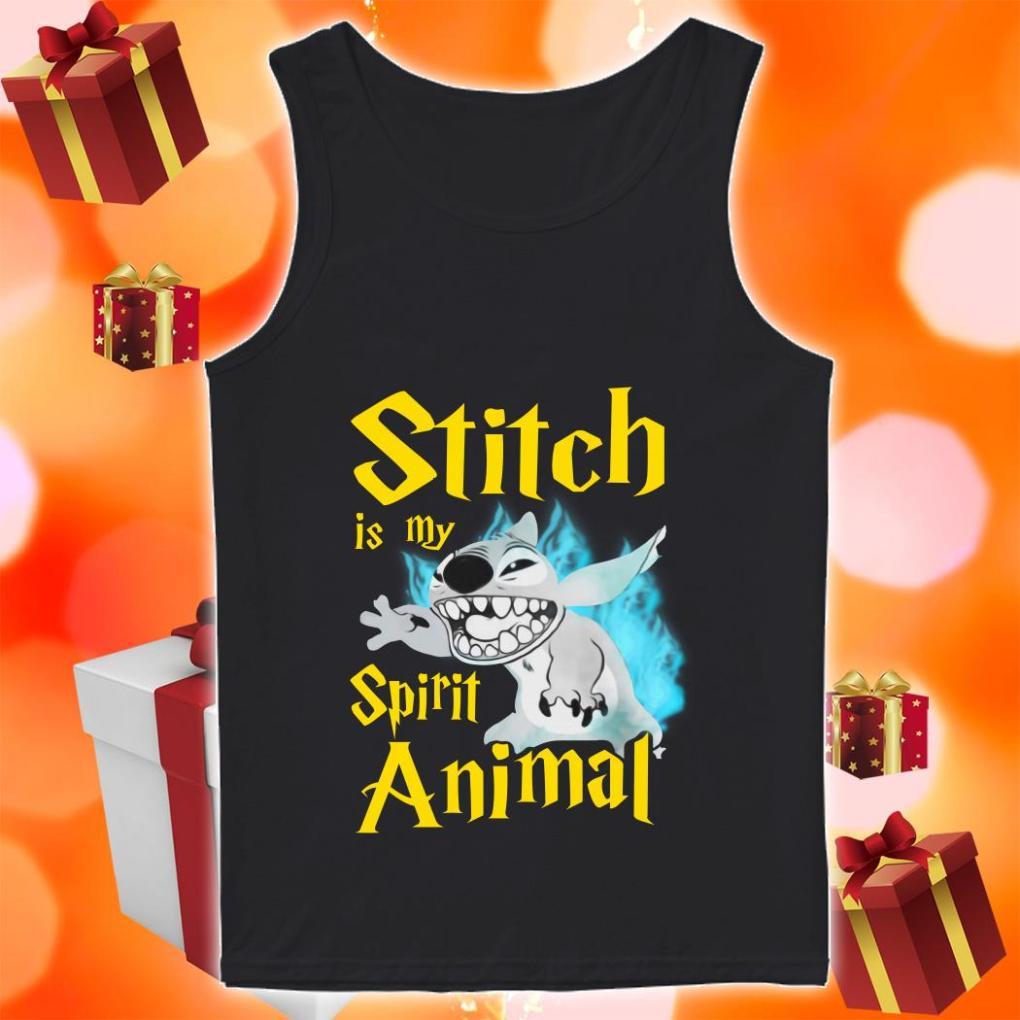 Stitch is my Spirit animal Harry Potter tank top