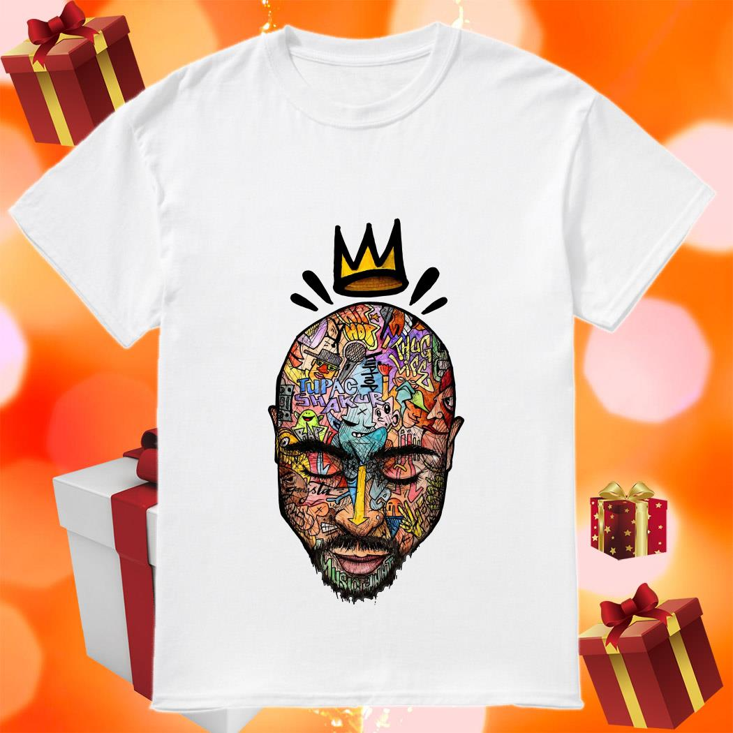 Tupac shakur Trippy art shirt