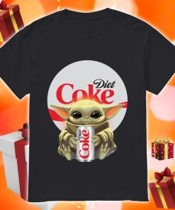 Baby Yoda hug Diet Coke shirt