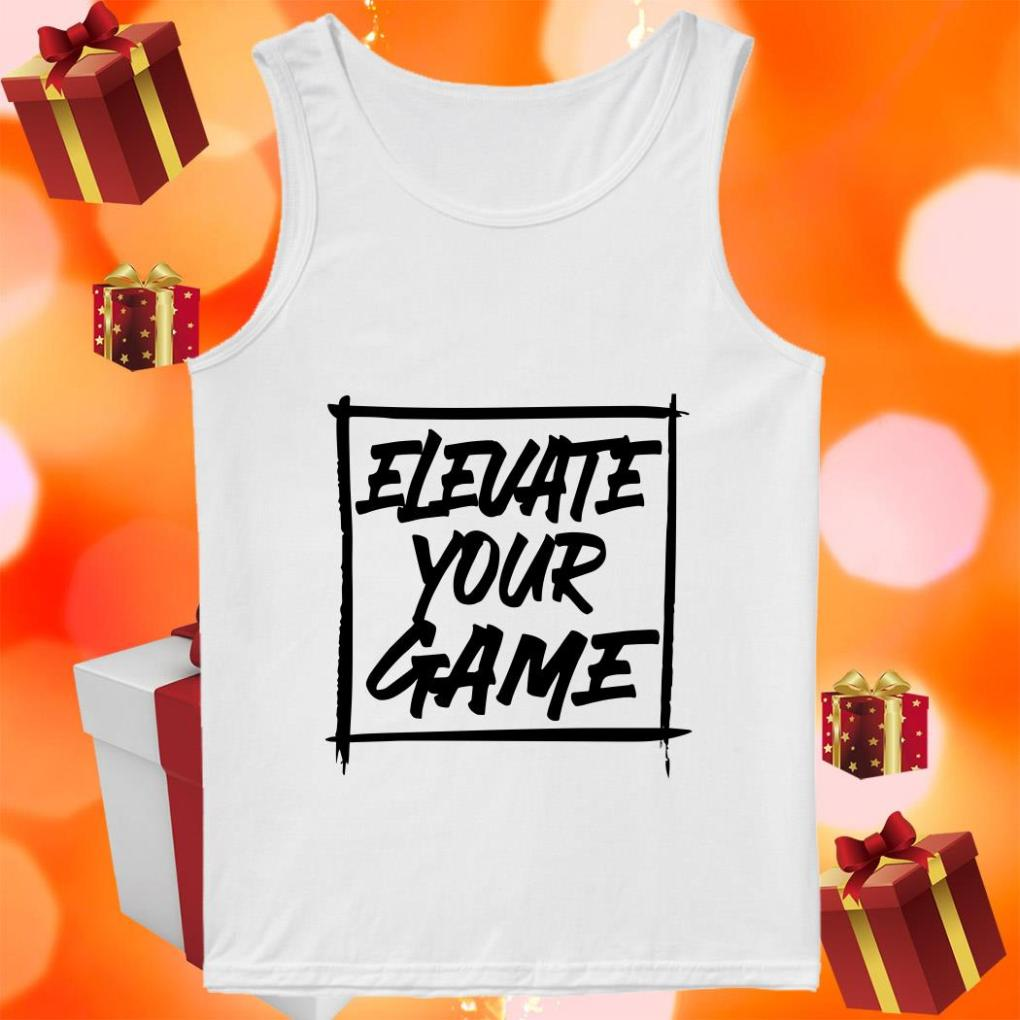 Bronny James ELEVATE YOUR GAME tank top