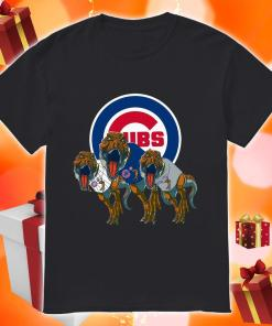Dinosaur T-Rex Chicago Cubs Women's Shirt