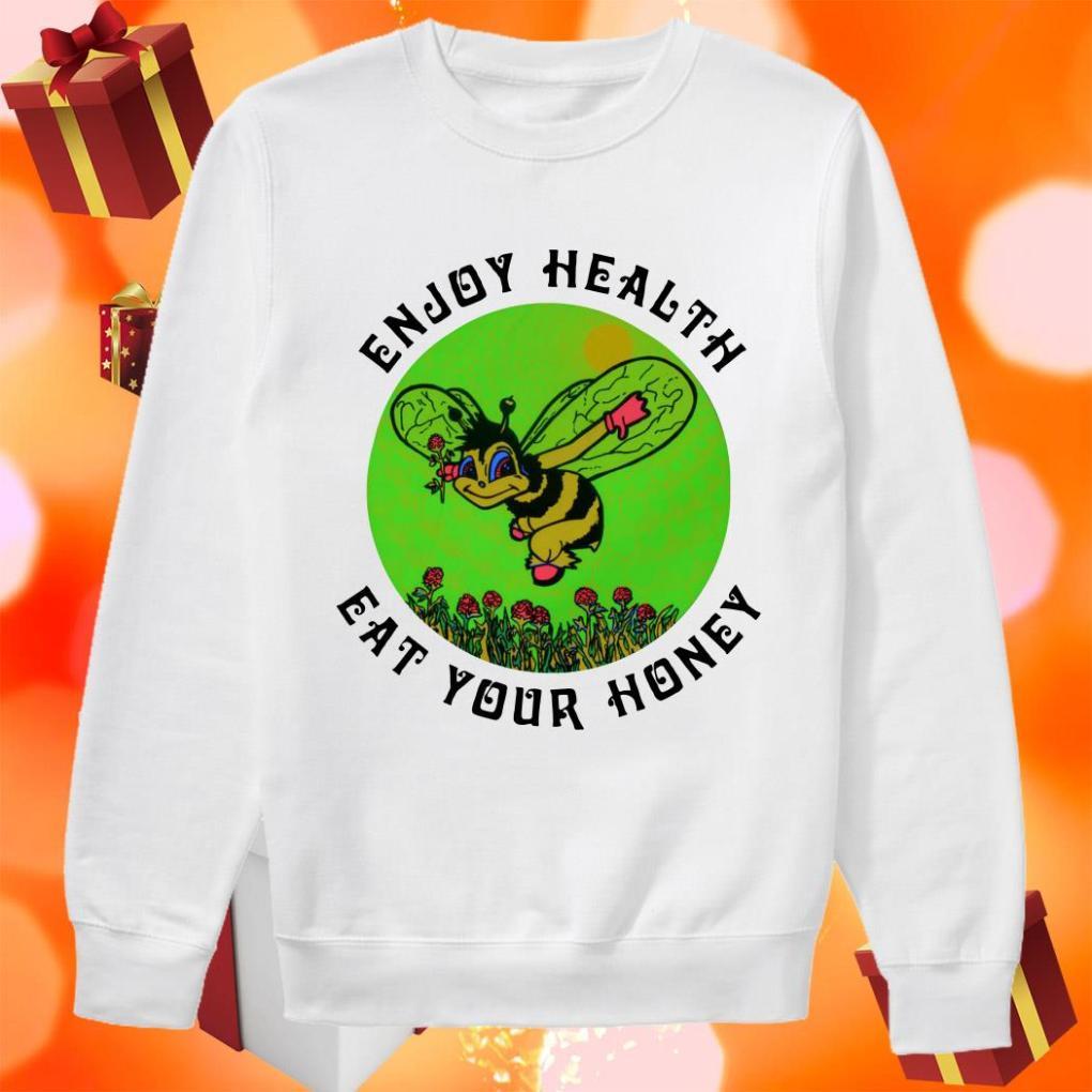 Enjoy health eat your Honey beer sweater