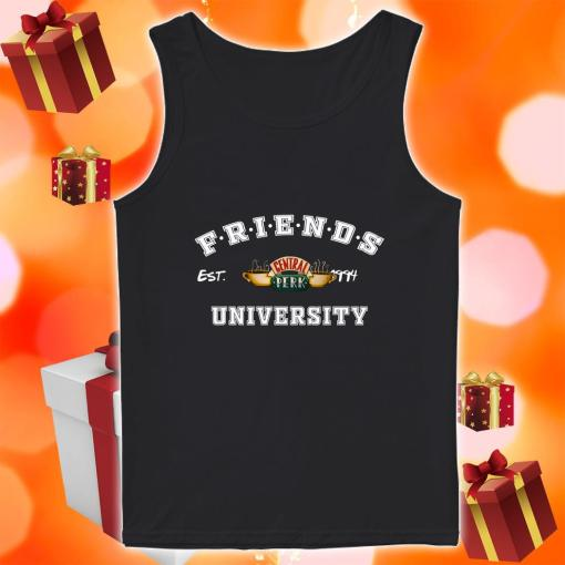 Friends Central Perk University tank top