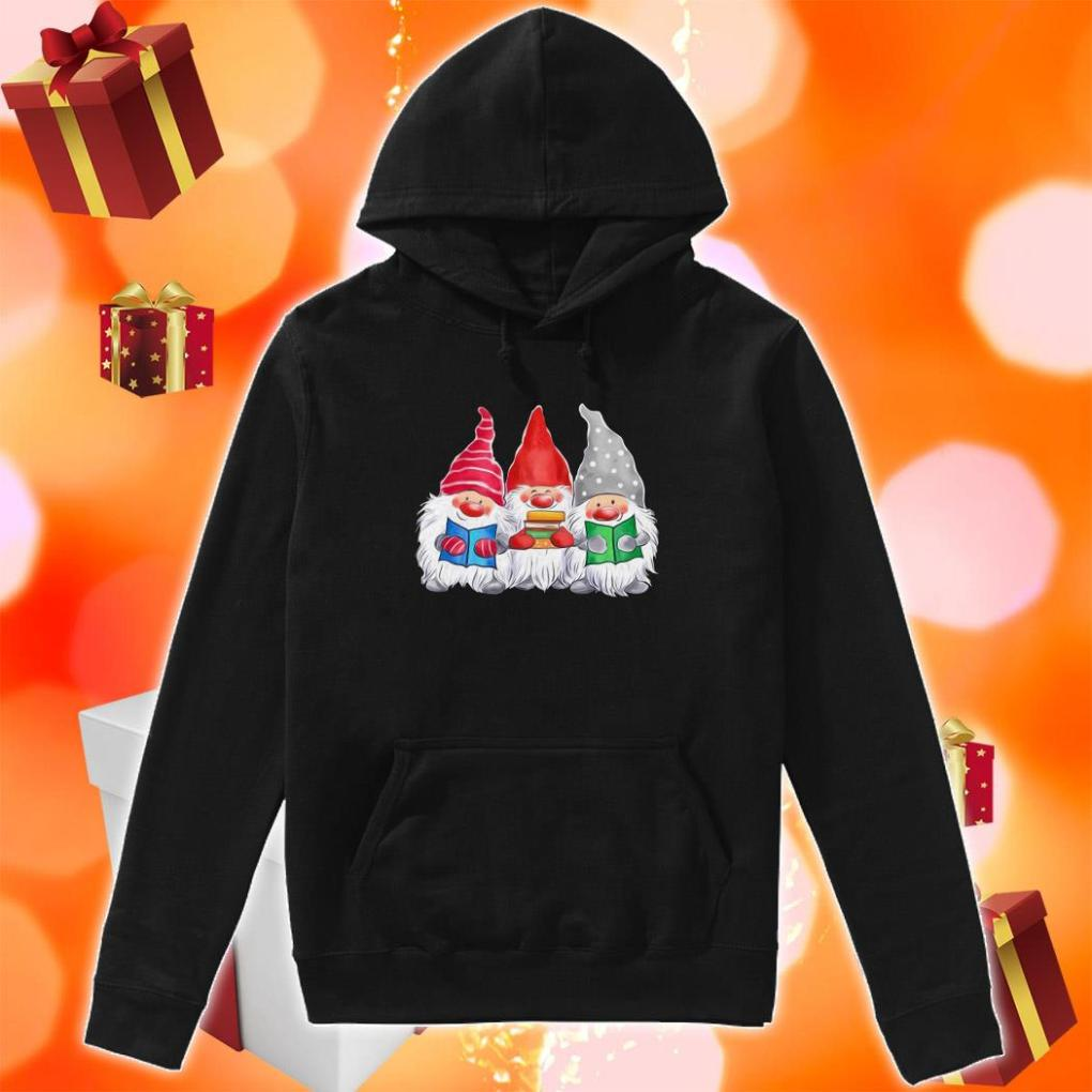 Gnomies love Book hoodie