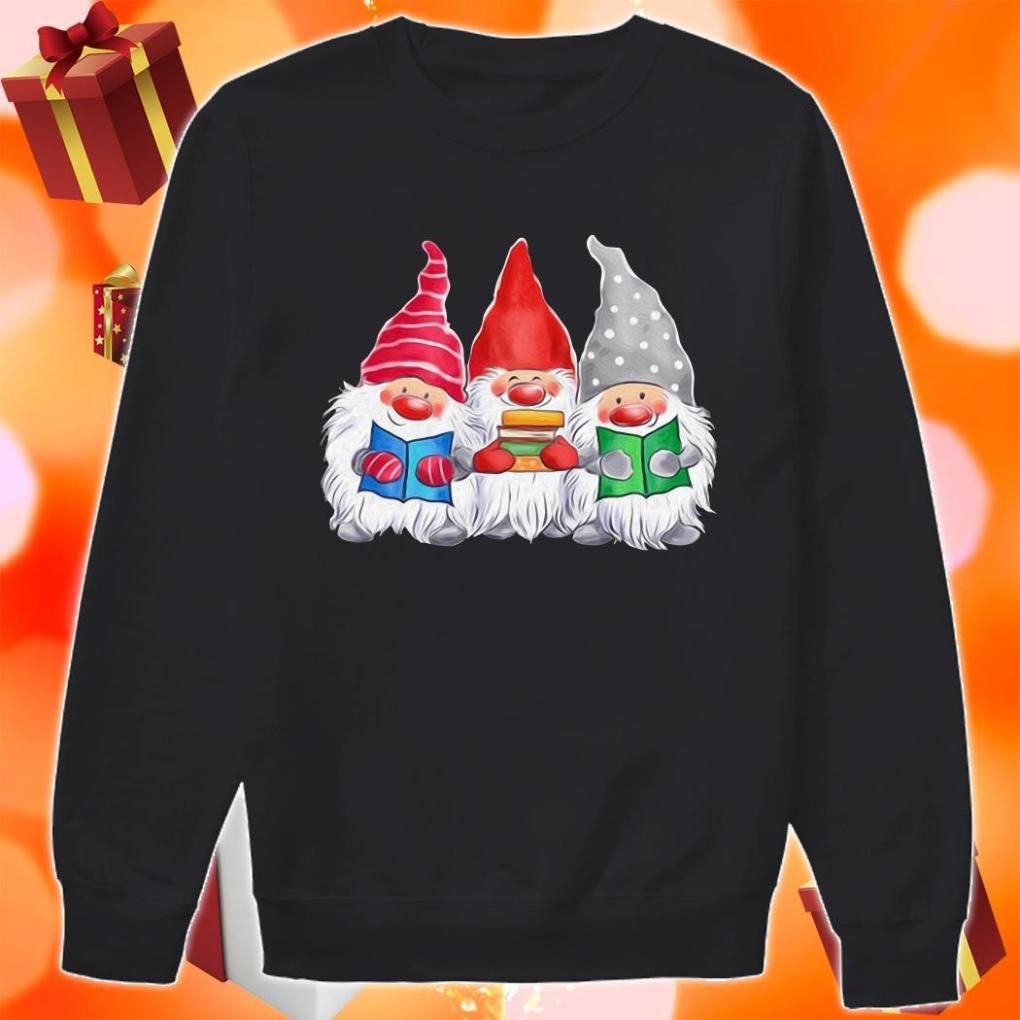 Gnomies love Book sweater