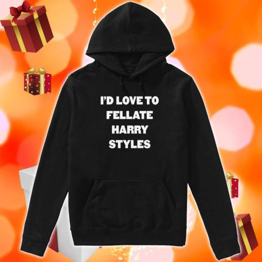 I'd love to fellate Harry Styles hoodie