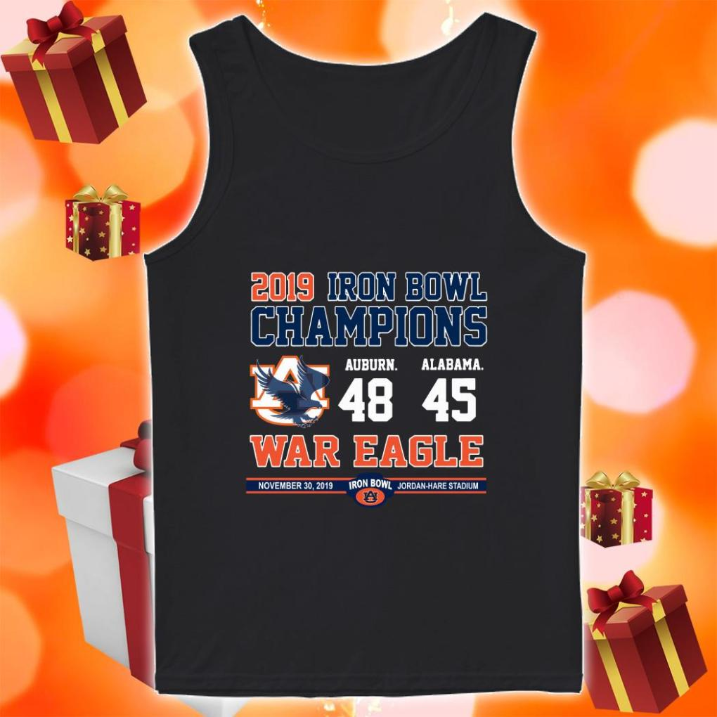 Iron Bowl Champions 2019 Auburn Tigers War Eagle shirt 1 Picturestees Clothing - T Shirt Printing on Demand