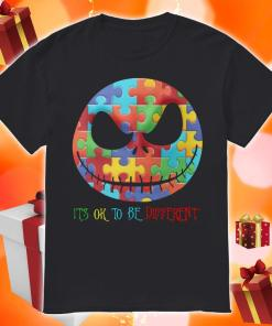 Jack Skellington It's ok to be different shirt