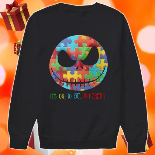 Jack Skellington It's ok to be different sweater