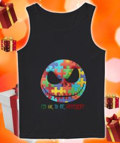 Jack Skellington It's ok to be different tank top