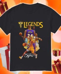 Kobe Bryant 24 Los Angeles Lakers Legends signature shirt