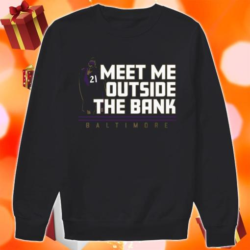 Mark Ingram Meet me Outside the Bank sweater