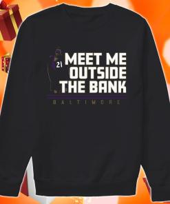 Mark Ingram Meet me Outside the Bank sweater