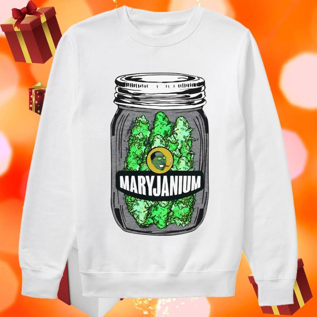 Maryjanium Weed sweater