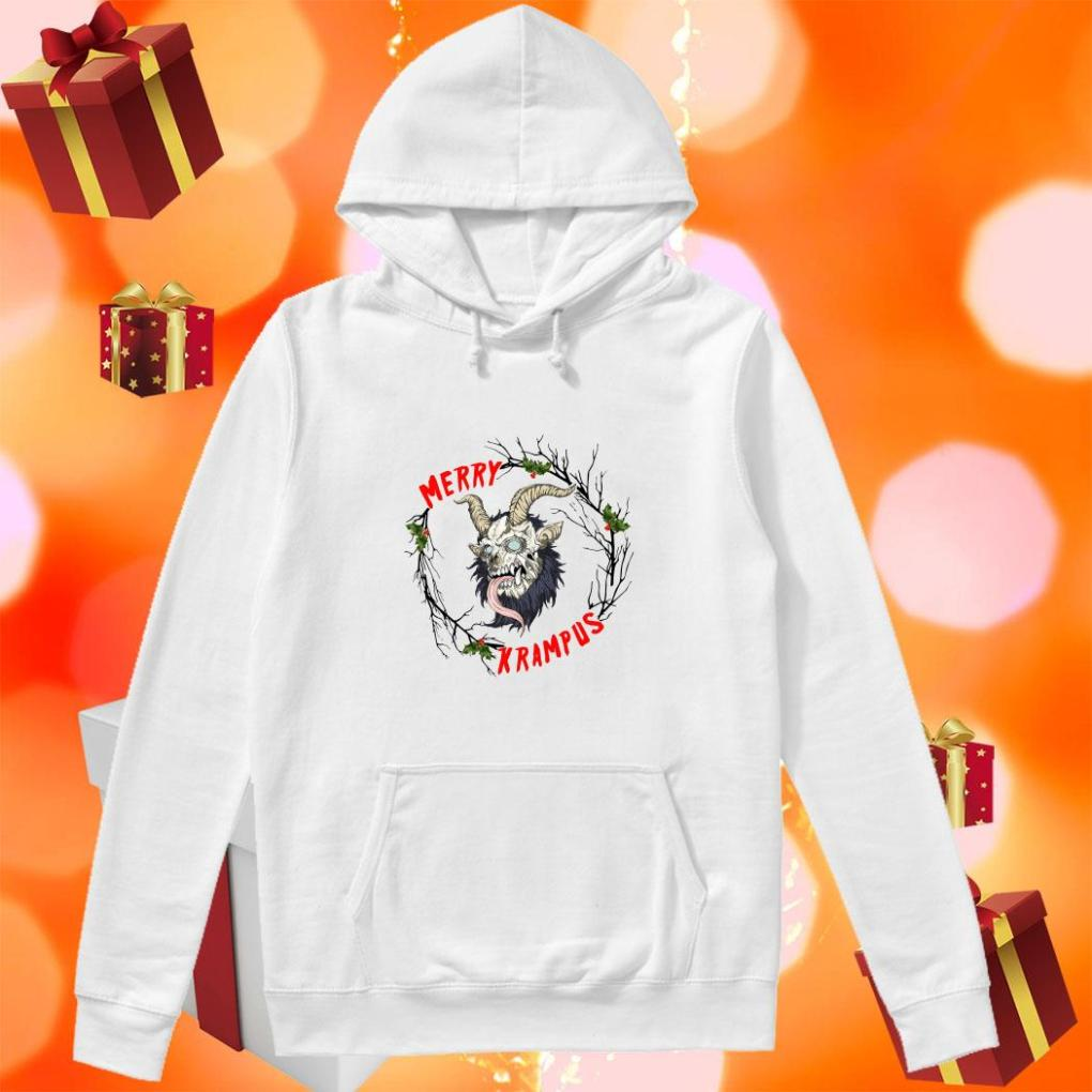 Merry Krampus Merry Christmas hoodie