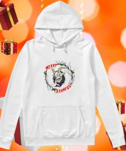Merry Krampus Merry Christmas hoodie