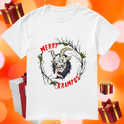 Merry Krampus Merry Christmas shirt