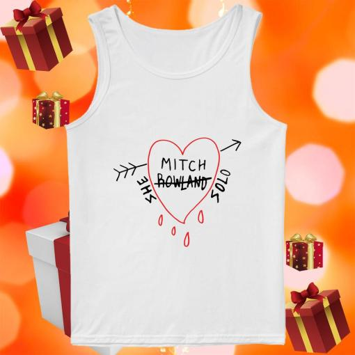 Mitch Rowland She Solo tank top