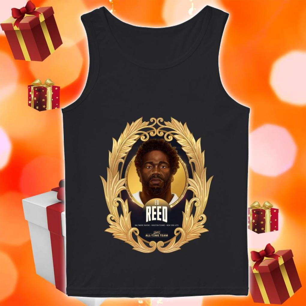 NFL 100 All-Time Team Ed Reed tank top