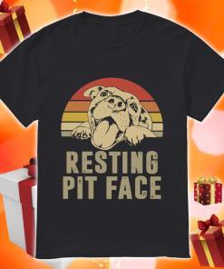 Resting pit face vintage shirt