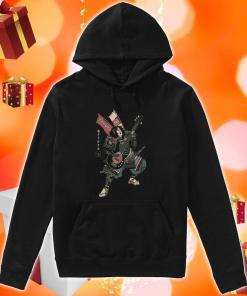 Samurai guitarist hoodie